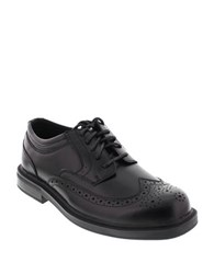 Deer Stags Tribune Wingtip Loafers Black