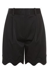 3.1 Phillip Lim Wave Satin Bermuda Short