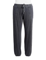 Marc New York Performance Plus Quilted Pocket Sweatpants Smoke