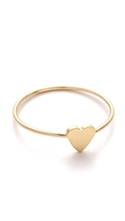 Jennifer Meyer Jewelry Mini Heart Ring Gold