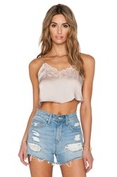 Free People Eclipse Crop Top Peach