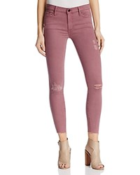 Black Orchid Noah Ankle Fray Destructed Jeans In Lady Like