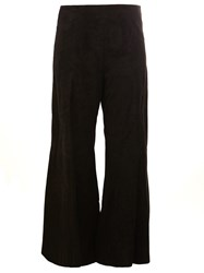 Drome Flared Cropped Trousers Black
