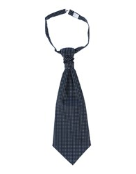 Luigi Bianchi Mantova Accessories Ties Men Dark Blue
