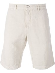 Massimo Alba Classic Chino Shorts Nude And Neutrals