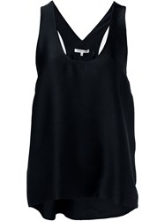 Helmut Lang Racer Back Tank Top Black