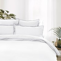 Tommy Hilfiger 100 Cotton Percale Duvet Cover White Single