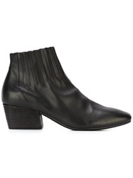 Marsell 'Nero' Fringed Ankle Boots Black