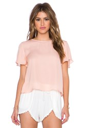 Myne Sand Crop Top Peach