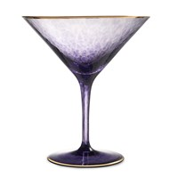 Waterford Rebel Rebel Martini Glass Purple