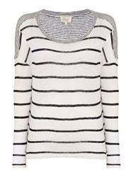 Linea Thick Stripe Ls Jersey Top