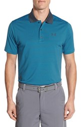 Men's Under Armour 'Release' Short Sleeve Polo Electric Blue