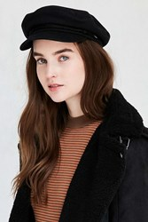 Urban Outfitters Captain Hat Black