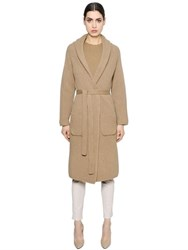 Max Mara 'S Ribbed Wool And Cashmere Long Cardigan