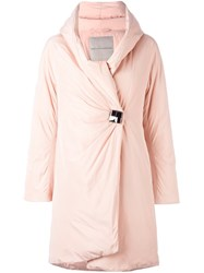 Ermanno Scervino Cocoon Coat Pink Purple