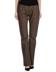Replay Casual Pants Dark Brown