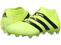 Adidas Ace 16.2 Primemesh Fg Ag Solar Yellow Black Silver Metallic Men's Cleated Shoes Green