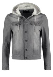 Your Turn Denim Jacket Grey Denim
