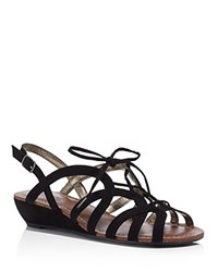 Carlos By Carlos Santana Belle 2 Lace Up Ghillie Sandals Compare At 59 Black
