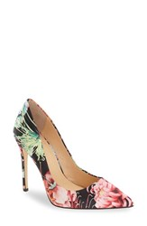 Women's By Zendaya 'Kyle' Pointy Toe Pump Red Multi