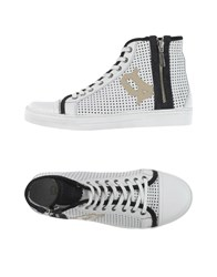 Galliano Footwear High Tops And Trainers Men White