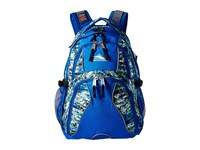 High Sierra Swerve Backpack Python Vivid Blue Black Backpack Bags