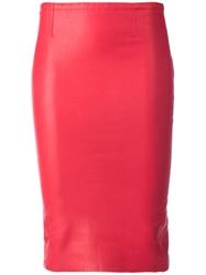 Stouls 'Gilda' Pencil Skirt Pink And Purple