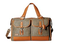Hartmann Tweed Collection Legacy Duffel Natural Tweed Duffel Bags Khaki