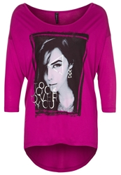 Fresh Made Long Sleeved Top Dark Berry Purple