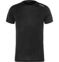 Cafe Du Cycliste Marcelle Stretch Jersey Cycling Base Layer T Shirt Black