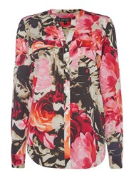 Episode Abstract Print Blouse Multi Coloured