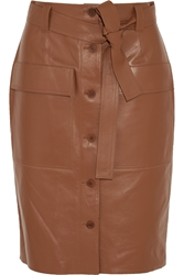 Jonathan Saunders Edith Leather Skirt