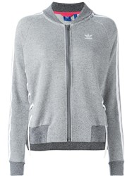 Adidas Drawcord Track Jacket Grey