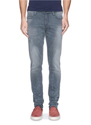 Scotch And Soda 'Skim' Faded Skinny Jeans Blue