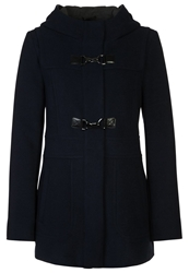 Comma Short Coat Blue Dark Blue