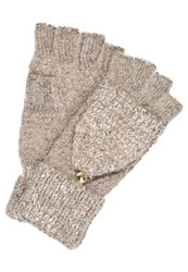 Dorothy Perkins Sequin Gloves Oat Beige