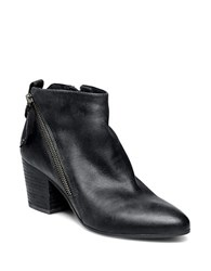 Steve Madden Jaydun Asymmetric Zip Booties Black