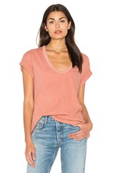 The Great U Neck Tee Coral