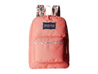 Jansport High Stakes Coral Spark Pretty Posey Backpack Bags Orange