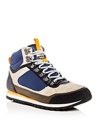 Barbour Highlands Mid Top Sneakers Gray