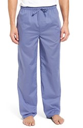 Nordstrom Men's Big And Tall Men's Shop Woven Lounge Pants Blue Trellis