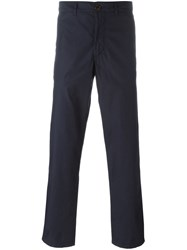 Oliver Spencer 'Worker' Trousers Blue