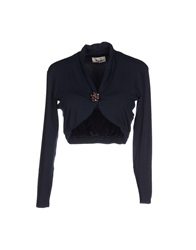 Niu' Wrap Cardigans Dark Blue