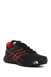 The North Face Ultra Mt Trail Running Sneaker Tnf Blk Tnf Red