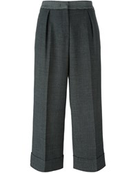 I'm Isola Marras Cuffed Trousers Black