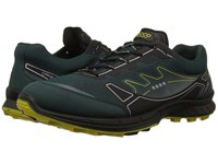 Ecco Biom Trail Fl Gtx Dioptase Dioptase Bamboo Men's Lace Up Casual Shoes Navy