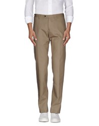 Mp Massimo Piombo Trousers Casual Trousers Men Beige