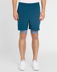 Lacoste Forest Green Logo Pr Shorts
