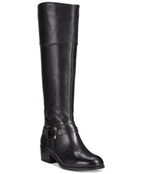 Alfani Biliee Tall Wide Calf Riding Boots Only At Macy's Women's Shoes Black