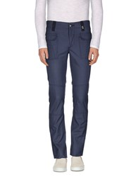 Galliano Trousers Casual Trousers Men Slate Blue